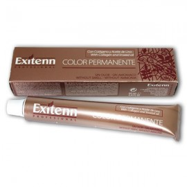 Exitenn Color Permanente 60 ml. Sin Olor y Sin Amoniaco